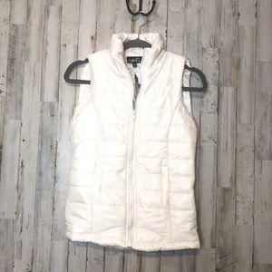 NWT Rue 21 Women's Winter White Puffer Vest